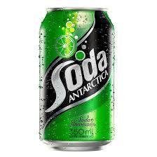 Soda limonada lata