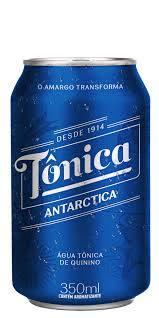 Água tonica lata