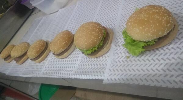 3 lanches promocionais (lx-burguer / da madruga / ticken louco) + refrigerante 269ml