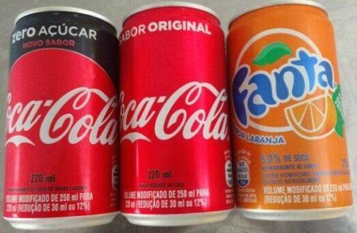 Refrigerante - mini lata