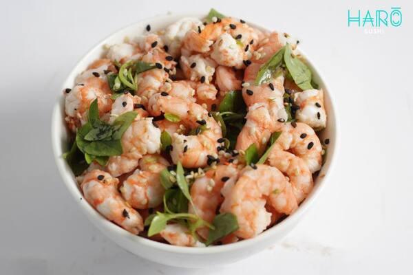 Saladinha camarão oriental
