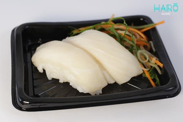 Niguiri de peixe branco