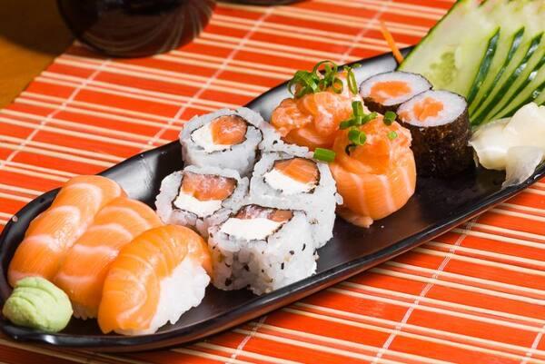 Combo simples de salmão