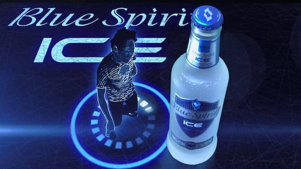 Blue spirit ice 275 ml