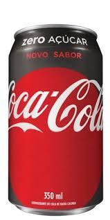 Coca-Cola Zero Açúcar - 350ml (Lata)