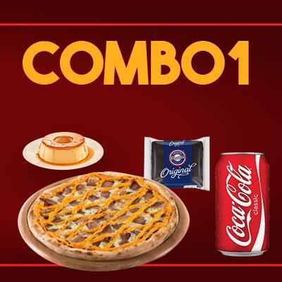 Combo 1 (pizza 25cm)