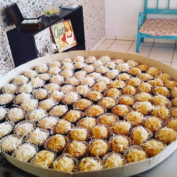 50 coco queimado 50 coco branco
