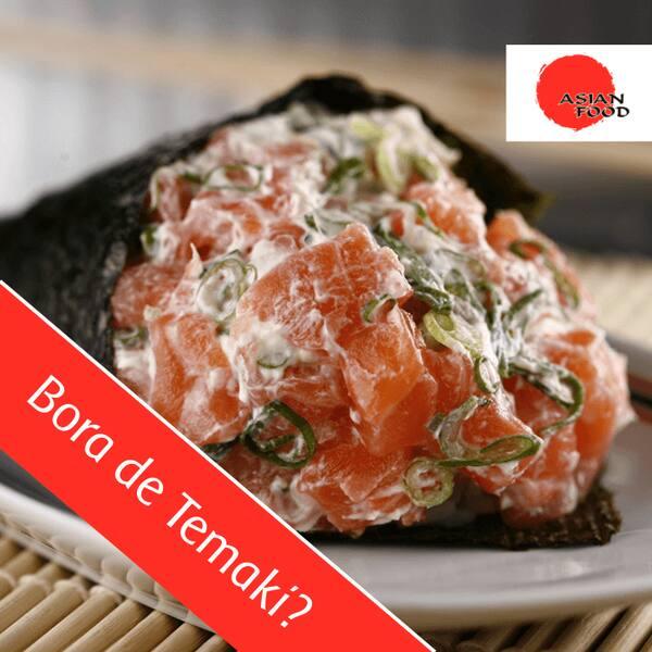Temaki salmão - unidade