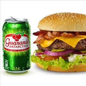 1 x tudo + 1 Guaraná lata