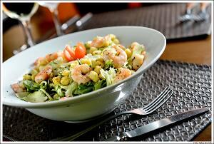 1750. Salada Caesar de Camarão