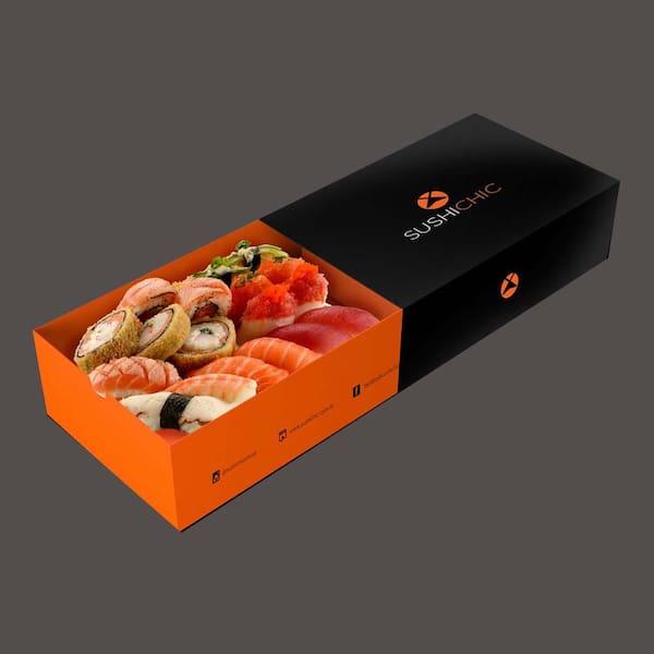 107001 - sushi box for 1 especial - 18 unidades