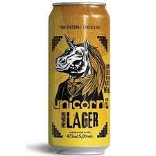 Cerveja unicorn lager