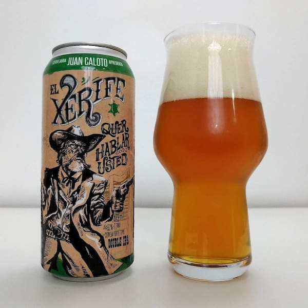 Cerveja juan caloto el xerife