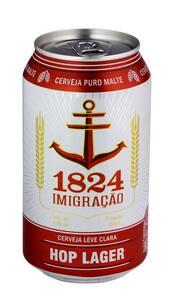 Cerveja 1824 imigração hop lager