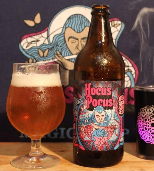 Cerveja hocus pocus magic trap