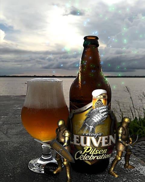 Cerveja leuven pilsen celebration