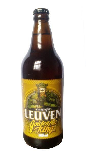 Cerveja leuvem golden ale knight