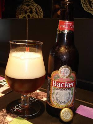 Cerveja backer pale ale