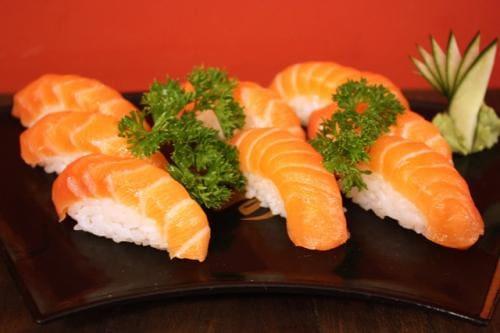 Niguiri shake - salmão