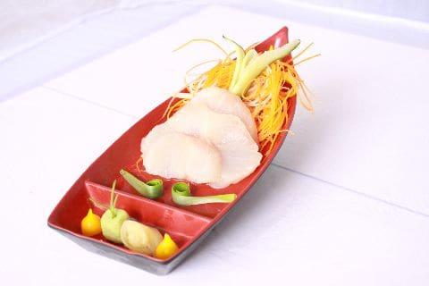 Sashimi shiromi - peixe branco