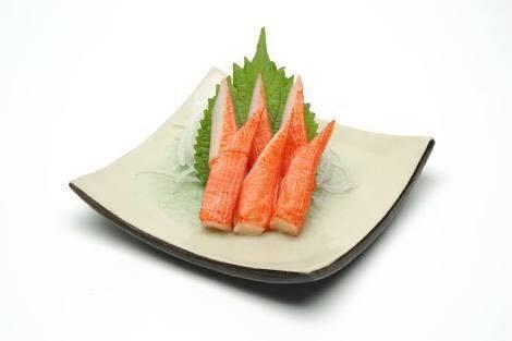 Sashimi kani - carangueijo