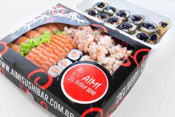 Combo happy hour de salmão - 58 unidades (até as 20h)