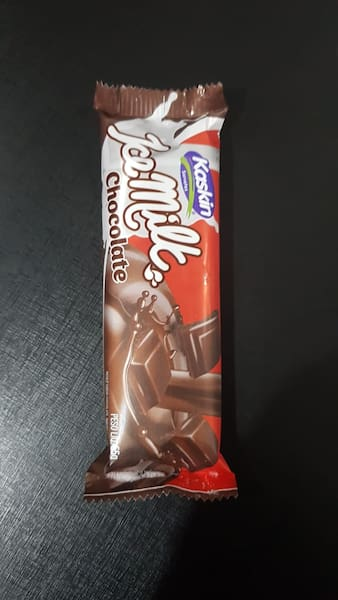 Picolé de chocolate