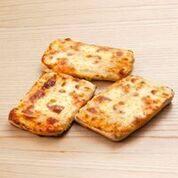 Pretzels square mussarela