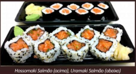 Hossomaki salmão (8 unidades)