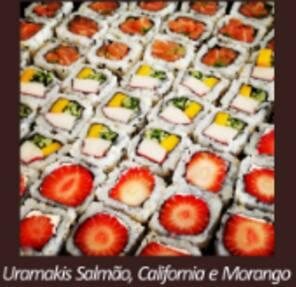 Uramaki califórnia (8 unidades)