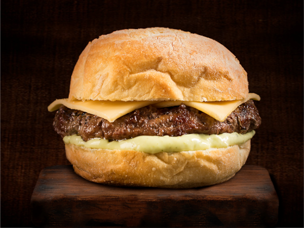 Cheese burger fraldinha
