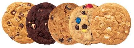 Kit 3 cookies