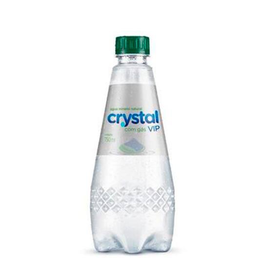 Água crystal (com gás)