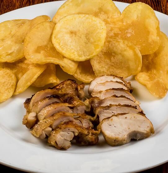 Desossado Levinho c/ Batata Chips