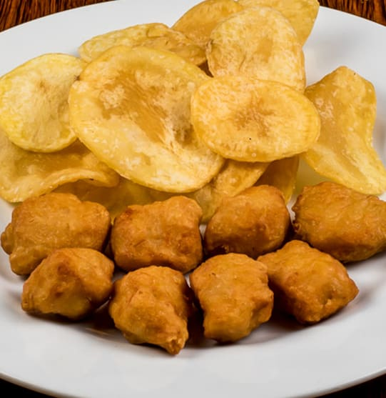 Nuggets c/ Batata Chips