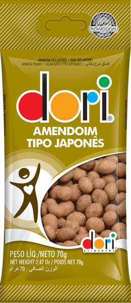 Amendoim japonês dori 70g