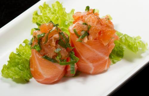Sushi (pares) jô salmão