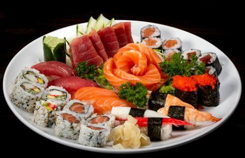 Combinados tradicional ii (12 sushis, 16 makis, 15 sashimis)