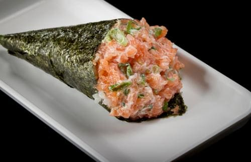Temaki salmao turbo