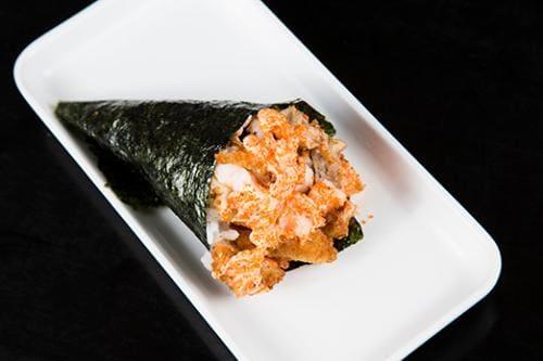 Temaki ebitem spicy