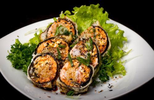 Hot roll de camarão (6 unidades)