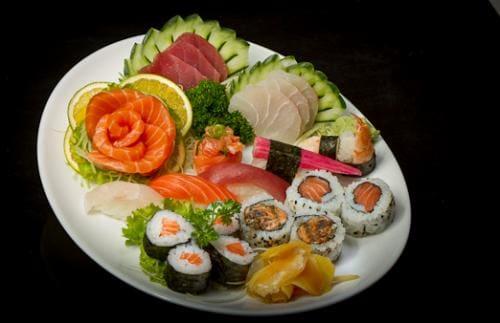 Combinado tradicional i (6 sushis, 8 makis, 10 sashimis)