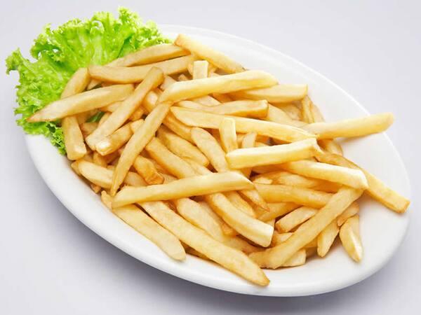Porção de batata  media