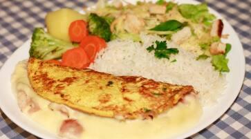 Omelete Francesinho