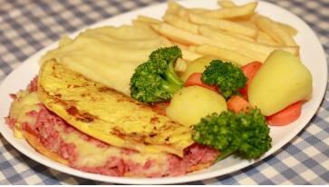 Omelete Peruano