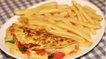 Omelete Rúcula