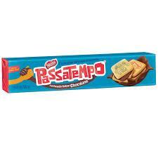 BOLACHA PASSATEMPO CHOCOLATE