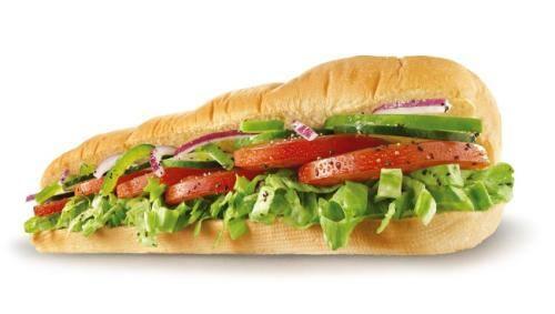 Sanduíche vegetariano (30cm)