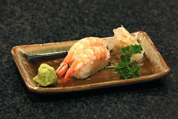 Niguirizushi camarão