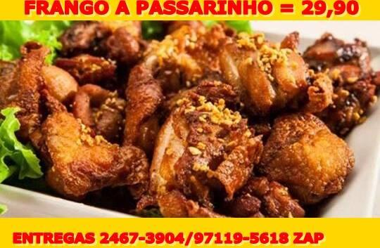 FRANGO A PASSARINHO